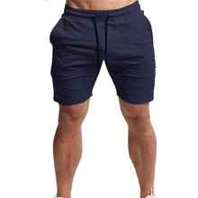 New Summer Men Casual Sport Shorts Pants Cotton Running Sweatpants Fitness Five-Pants