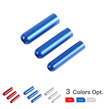NICECNC Aluminum Alloy Shock Seal Bullet Tool CNC Machined 1 Set Red Titanium Blue Motorcycle