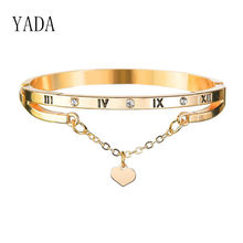 Yada подарки Новые стрела Открытые Браслеты на запястье и браслеты