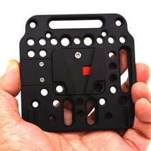 Mounting Kit V-lock Assembly Plate Quick Release V- dock Battery Set Camera Video Accessories