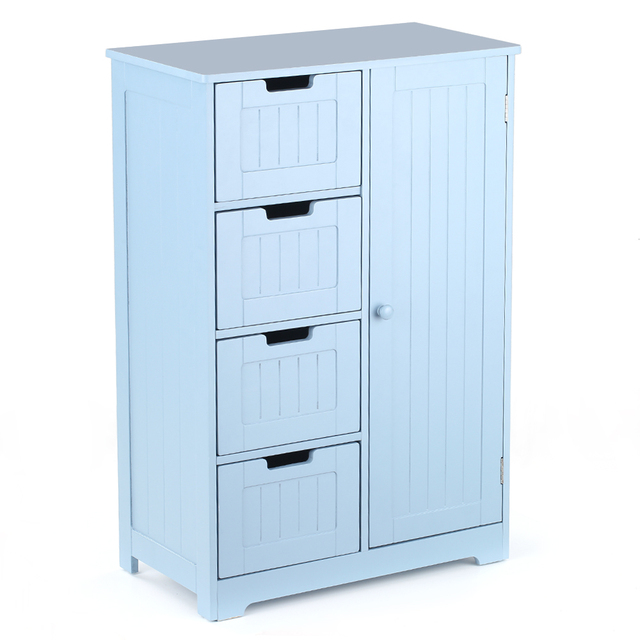 Modern Bathroom Wardrobe Cupboard Storage Cabinet For Bedroom