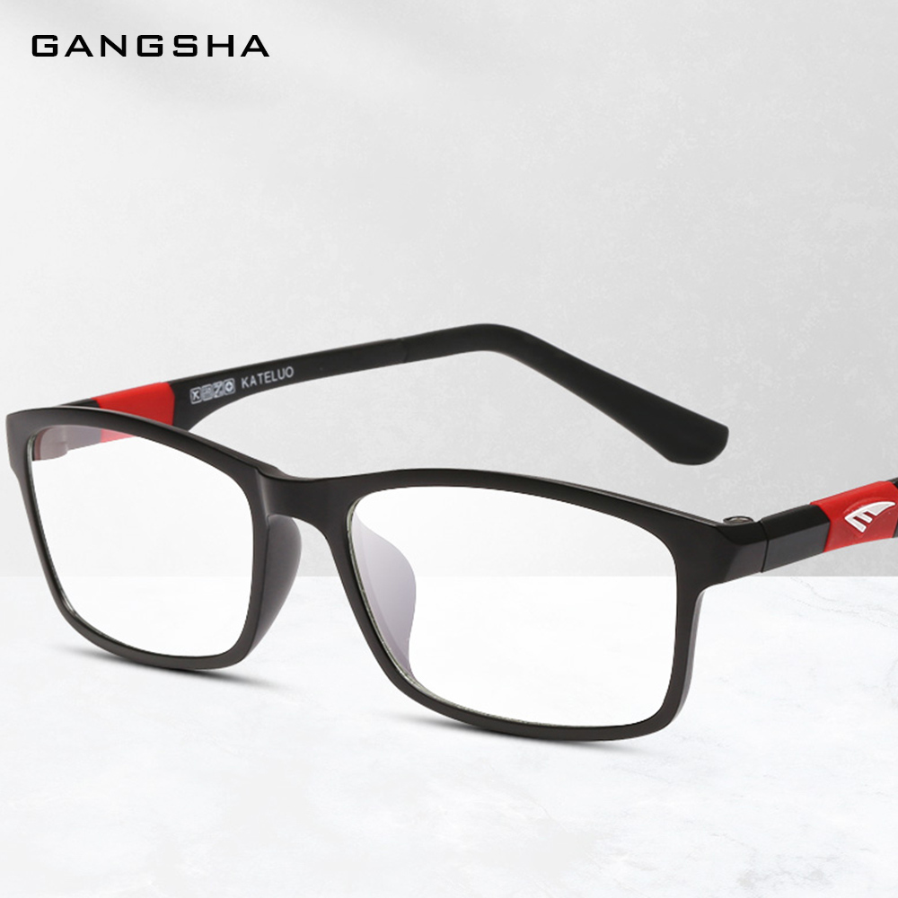 GANGSHA Eyewear ULTEM Glasses Frame Men Women Eyeglasses Computer Anti Blue Ray Eye Lens male Spectacle lunette de vue 13022|Men's Eyewear Frames| - AliExpress