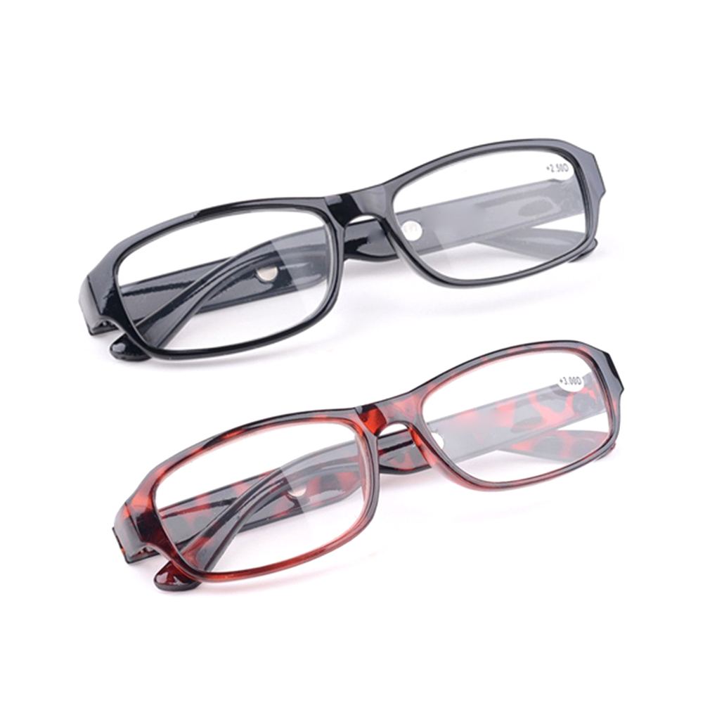 Women Men Resin Reading Glasses Readers Presbyopia Lenses Portable Seniors Eyewear Magnifying Glasses