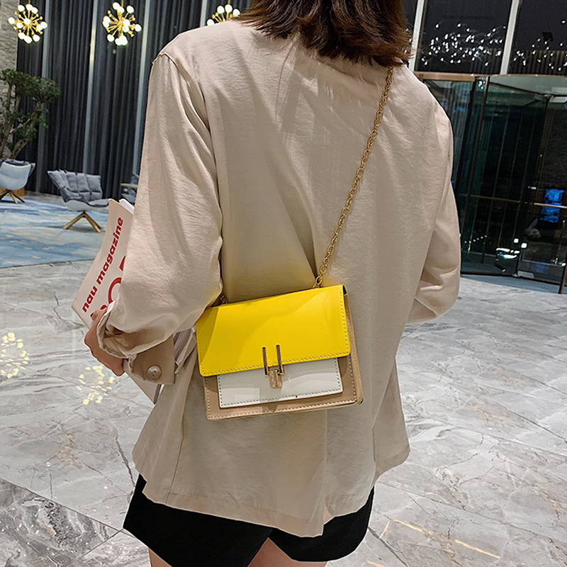 YogodlnsNew Small Flap Crossbody Bags for Women 2020 Summer PU Leather Shoulder Messenger Bag for Girl Handbag Bolsas