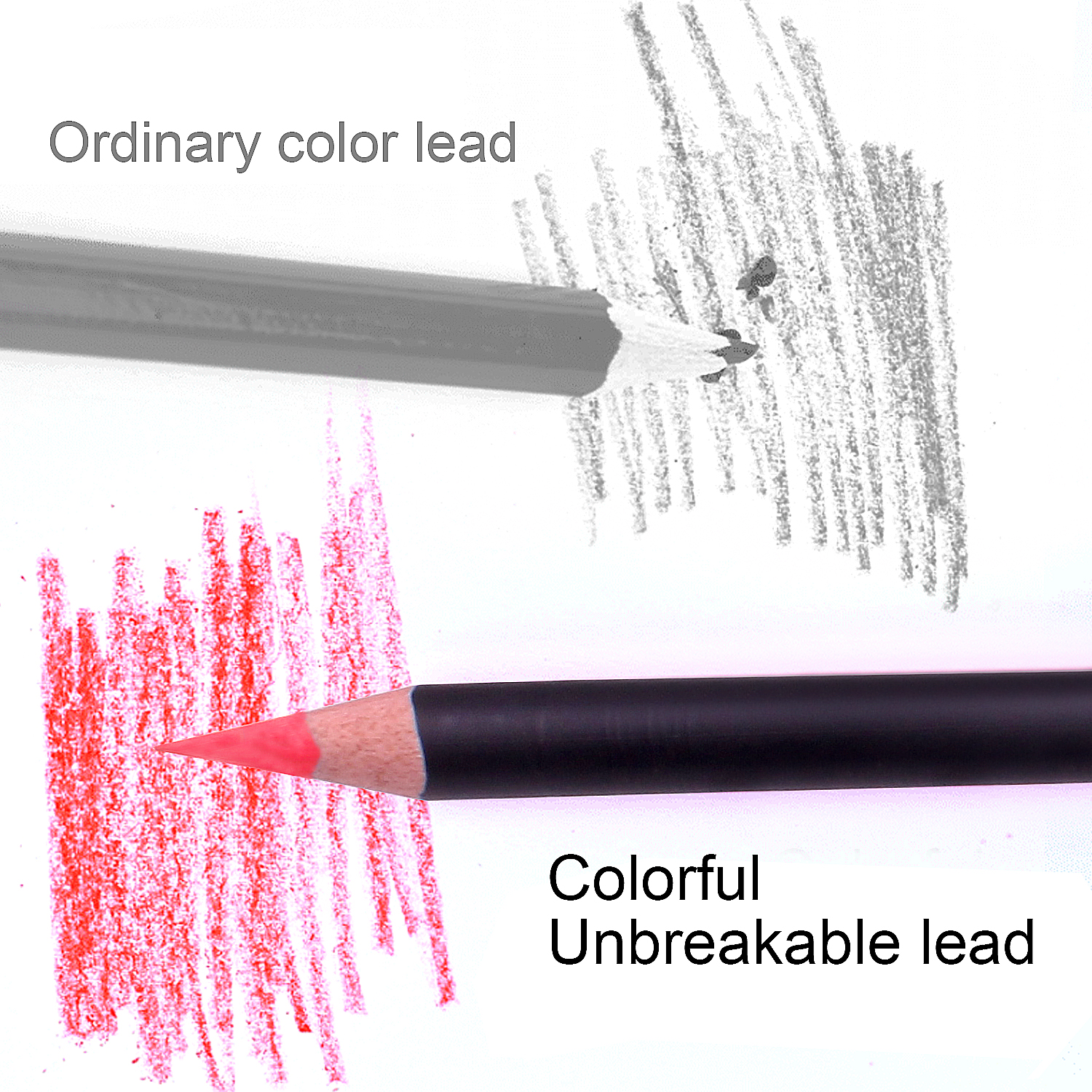 Colouring Pencils with Metal Box,180 Unique Coloured Pencils and Pre Sharpened Crayons for Coloring Book - Ideal Christmas Gift 5