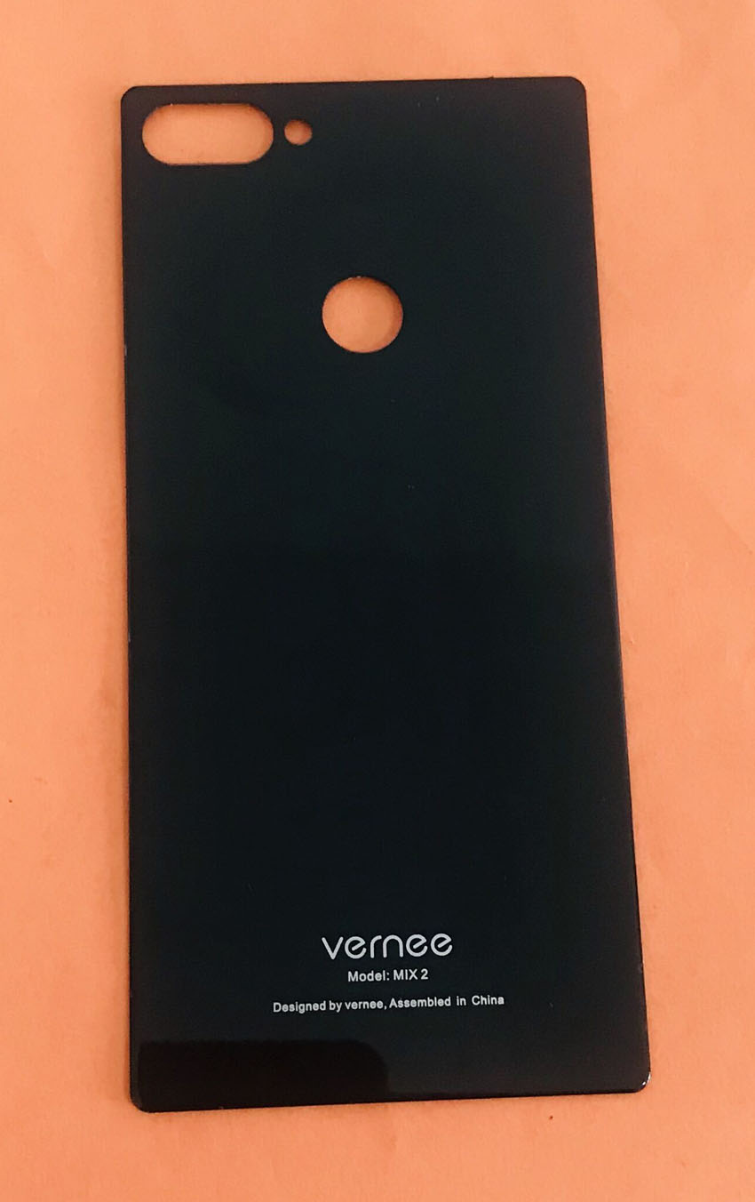 Used Original Protective Battery Case Cover For Vernee Mix 2 MTK6757 Octa Core 6.0 Inch Free Shipping