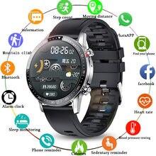 LIGE Bluetooth Phone Smart Watch Men Waterproof Sports Fitness Watch Health Tracker Weather Display 2021 New smartwatch Woman
