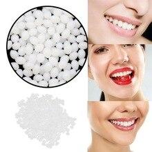 Resin Fake Teeth Temporary Tooth Repair Teeth Gap Removable Veneers False Teeth Dentures Solid Glue for Teeth Dientes Postizos