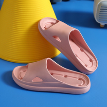 Women Slippers Summer Slippers Hollow Out Eva Soft Sole Sandals Leisure Couples Indoor Shower Pool Bath Anti-slip Massage shoes