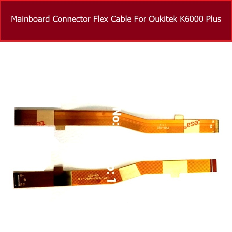 Mainboard <font><b>connector</b></font> Flex Cable For Oukitel K6000 Plus K6000+ <font><b>FPC</b></font> Main Board <font><b>Connector</b></font> Flex Ribbom Cable <font><b>Repair</b></font> Replacement Parts image