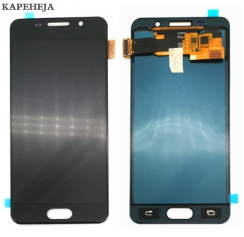 Can adjust brightness LCD For Samsung Galaxy A3 2016 A310 A310F A310M A310H LCD Display Touch Screen Digitizer Assembly защитное стекло partner для samsung a3 2016 a310 твердость 9h