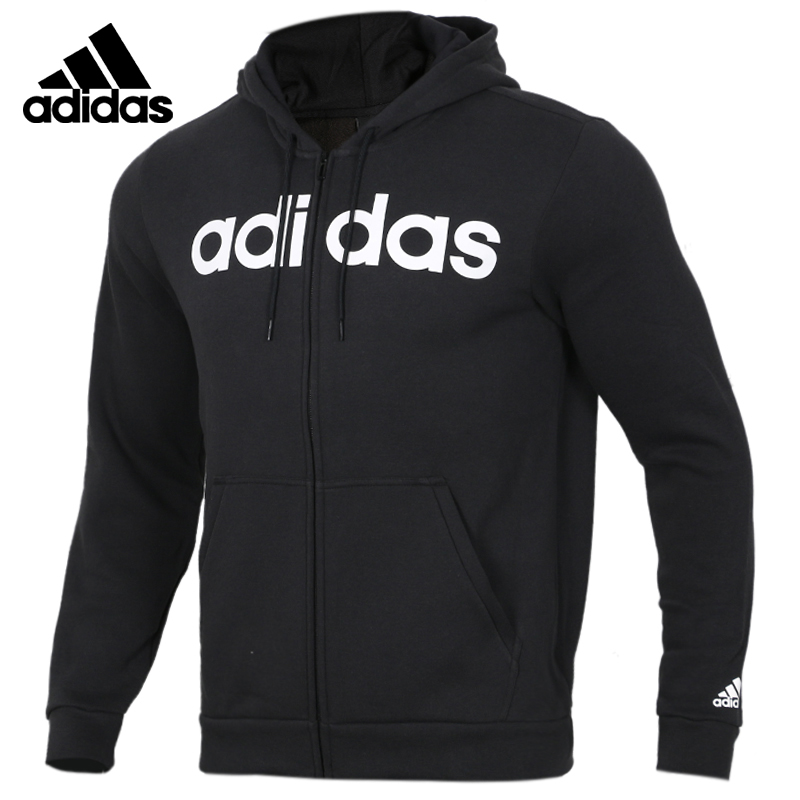Adidas Neo COMM M FZ FL Mens Running Jas Sport Kleding Wind-proof Hoodies DM3130