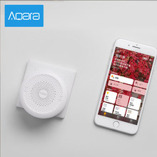 Xiaomi Aqara Hub Gateway LED Night Light Wireless ZigBee Remote Control Wifi Connect RGB Night Lamp Work with Mi Home APP