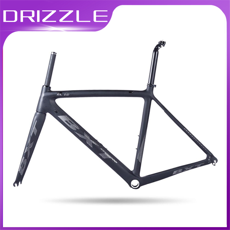 2020 New Carbon Road Bicycle Frame Cycling Bike Frameset Super Light Screw-in BSA 980g Di2/mechanical Racing Carbon Road Frame