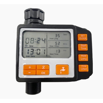 цена на Automatic Watering Sprinkler System Irrigation Controller Programmable Digital Hose Faucet Timer Battery Operated Accessories