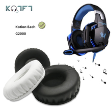 KQTFT 1 Pair of Replacement Ear Pads for Kotion Each G2000 G 2200 G 2000 G 2000 2200 Headset EarPads Earmuff Cover Cushion Cups