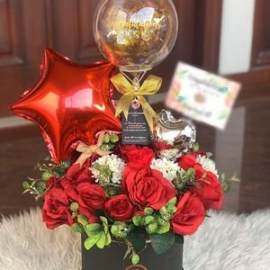 Image 4 - 50 個 5 インチ箔スター風船ハートバルーン結婚式の装飾シルバーゴールド誕生日ベビーシャワーの結婚式用品