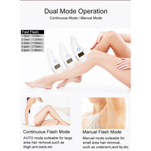 Female epilator hair removal tool 990000 Flash professionala body facial legs bi