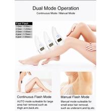 Women Epilator Hair Removal Tool  990000 Flash professiona Body Face Leg Bikini  Lips  IPL Ice Cool laser Hair Removal