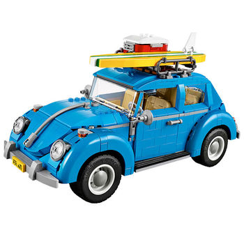 21003 1193Pcs Creator Series City Car Volkswagen Beetle Beetle model Building Blocks sets education toys for Kids gifts 1