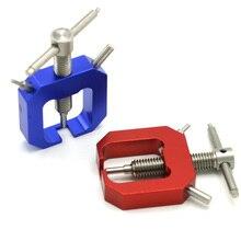 Removedor de motor de metal universal, removedor removedor de engrenagem de pinion para helicóptero rc, acessórios profissionais de brinquedo rc