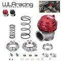 Resfriador de água 44mm wastegate externo turbo vermelho/azul/preto com flange/ferragem MV-R refrigerado a água com logotipo pqy5834