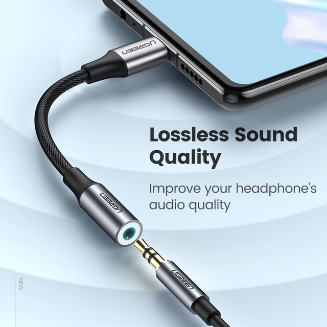 Type-C to 3.5 mm AUX Headphones Adaptive Cable