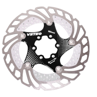 160mm 6 Holes Anti Corrosion Easy Install Rotor Mountain Bike Cycling Floating With Screws Brake Disc Practical Accessory Metal