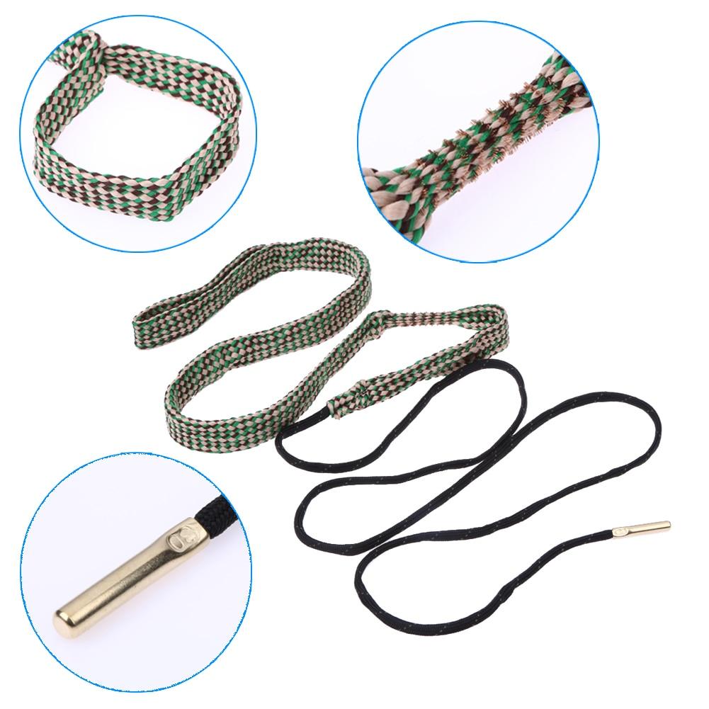Trwała Bore wąż liny szczotka liny szczotka G04 30 Cal 7.62mm baryłkę czyszczenia liny drut miedziany materiał tkaniny do polowania na zewnątrz