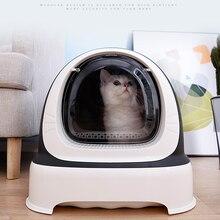 Полностью закрытый кошачий Песочник кошачий Туалет разбрызгиватель королевская кошка говно песочница товары для кошек