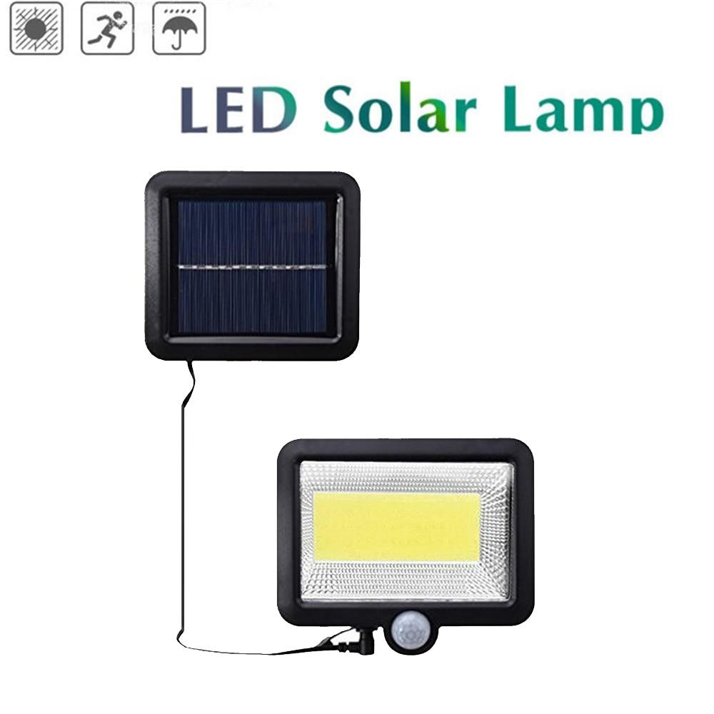 LED Solar Light Motion Sensor 56/30 LED Super Bright 1000lm 4 Modes Outdoor Garden Security Waterproof Wall Lamp Split Mount 5M