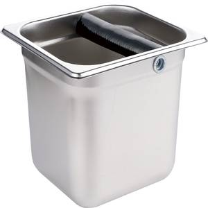 Container-Box Knock-Box Waste-Bin Coffee Grind Bucket Grounds Barista Residue Stainless-Steel