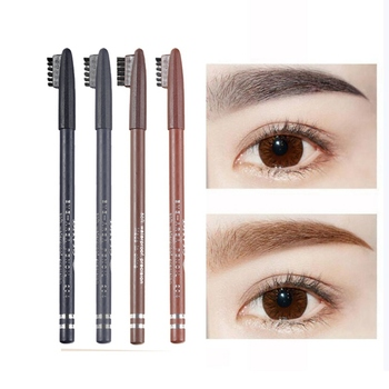 Waterproof 4 Colors Eyeliner Eyebrow Pencil Long-lasting Sweatproof Eye liner Easy To Color Eyebrow Pencil Makeup Tool