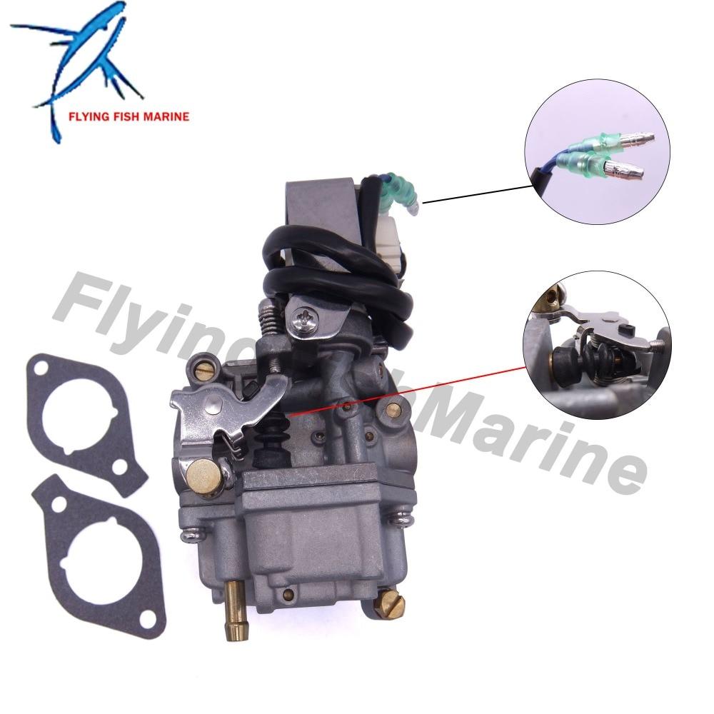 Motor de popa 6ah-14301-00 6ah-14301-01 carburador assy