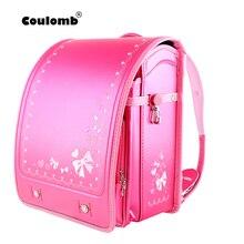Colomb детская школьная сумка для девочек детский ортопедический рюкзак для школьников и студентов книжные сумки Япония PU Randoseru детские сумки 2020 новый стиль