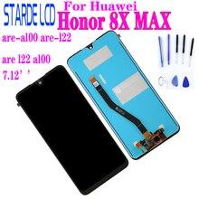 купить Original Display For Huawei Honor 8X MAX LCD Touch Screen Digitizer Replacement LCD Display JSN-AL00 Repair Part дешево
