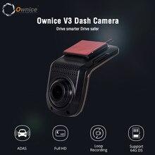 OwniceV3 Mini ADAS Auto DVR Carmera Dash Cam Volle HD1080P Auto Video Recorder Nachtsicht Dashcam