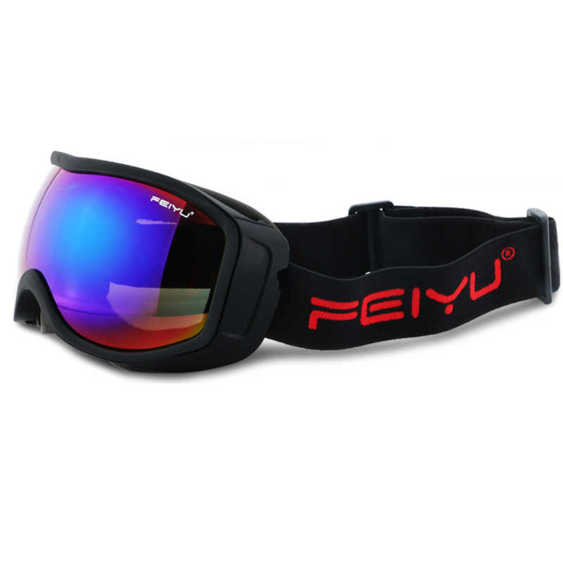 Очки для катания на сноуборде и лыжах, антизапотевающие, UV400, защитные очки для снегохода, мотокросса, бездорожья, маска для шлема для мужчин и женщин