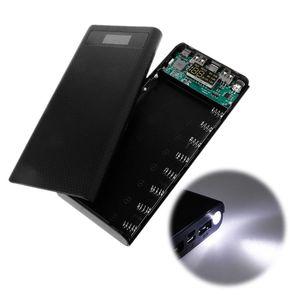 Image 5 - Duplo usb qc 3.0 8x18650 bateria diy power bank box carregador para iphone xiaomi celular tablet