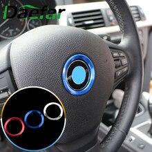 Accesorios para volante de coche, 15 Uds., funda negra con Logo circular para BMW 4 5 6 Series F32 F33 F10 F11 F12 F13