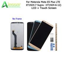 Alesser Motorola Moto E5 artı LTE XT1924 7 LCD ekran + dokunmatik ekran için 159mm Motorola Moto E5 artı montaj parçaları + araçları