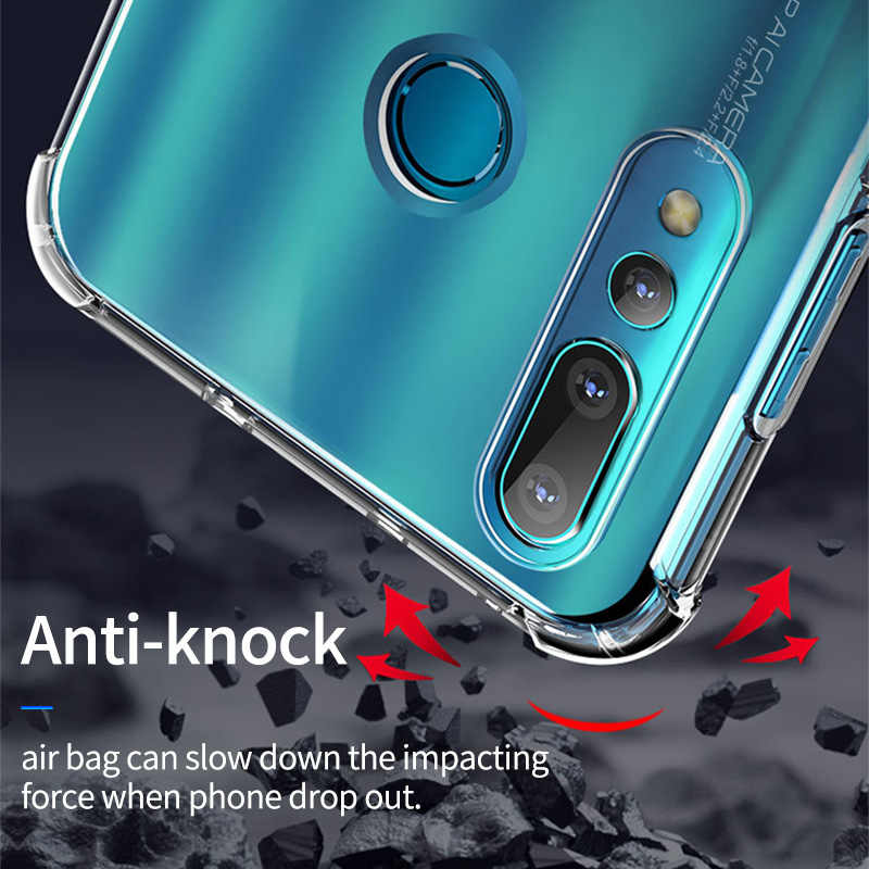 YBD Clear Shockproof Case for Huawei P20 Lite Mate 20 Lite Funda Coque Protective Case for Huawei P30 Lite Y9 P Smart 2019 Cover