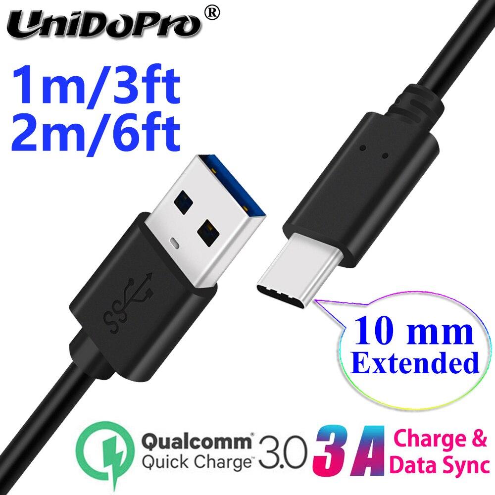 10 мм Длинный USB-C Тип C Расширенный наконечник Быстрый зарядный кабель для Ulefone Armor 9 7E 7 6S 6E 6 5 3WT 3W 3t 3 2S Power 6 5S 3S