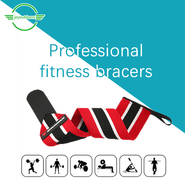 2 Adult Fitness Fitness Wristband Elastic Sweat Absorption Bracers Breathable Outdoor Sports Exercise Camping  Protection Belt 1