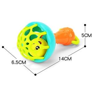 Image 3 - Hochet pour bébé de 0 à 12 mois, anneau de dentition pour nouveau né, tenue à la main, cloches secouantes pour bébé, anneau pour berceau, jouets, hochet pour nourrissons