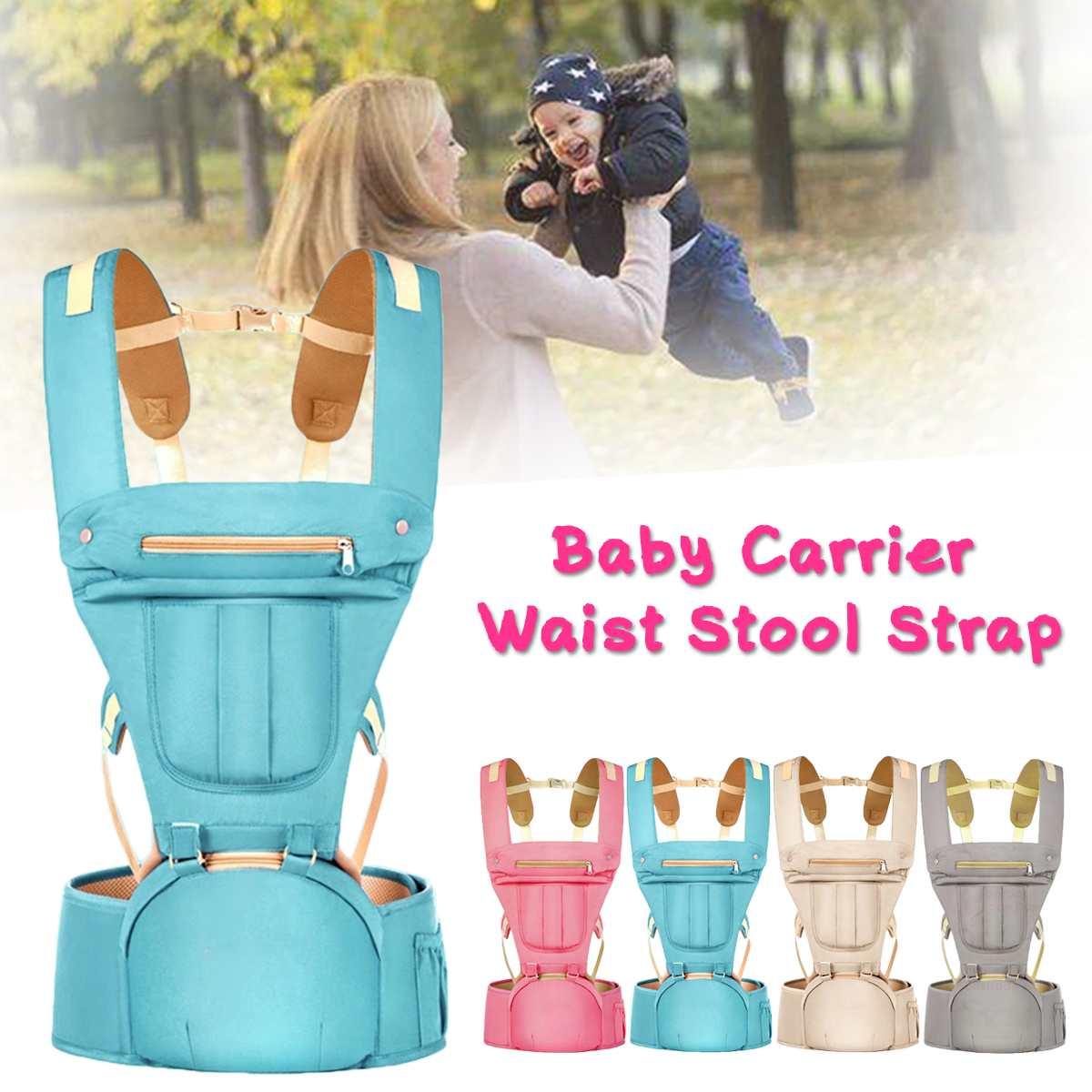 Ergonomic Baby Carrier Infant Kid Baby Sling Waist Stool Front Facing Kangaroo Baby Wrap Carrier Backpack Carrying Belt