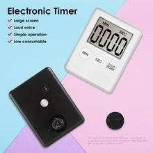 Super Thin LCD Digital Clock Kitchen Cooking Timer Count Down Alarm Stopwatch for Cooking Baking Sports Games