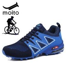 Chaussures de cyclisme vtt décontracté hommes chaussures de vélo de route en plein air chaussures de randonnée chaussures de randonnée légères hommes chaussures de jogging taille 47