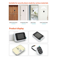 2019 New 3.5 LCD Color Screen Electronic Door Bell Viewer Door Peephole Camera Photo/Video Recording Digital Door Camera