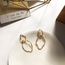 Fashion Statement Earrings 2019 Big Geometric earrings For Women Hanging stud modern Jewelry